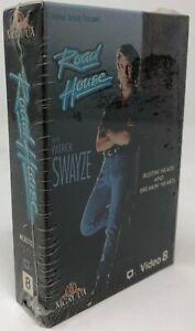 NEW sealed Road House Video 8 Movie 8mm Patrick Swayze
