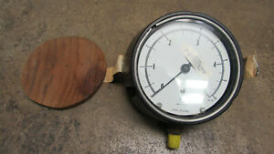 "Ashcroft Gauge 4.5""  0-5psi"