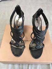 Gianvito  Rossi Sandals Shoes Pumps EU 40 Uk 7, US 9 Black, Vamp, Plexy