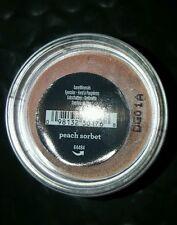 New Bare Minerals Bare Escentuals Peach Sorbet eyecolor ~peach sheen .02oz/.57g