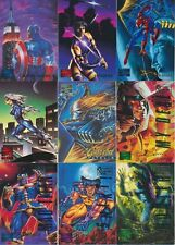 1995 Fleer MARVEL MASTERPIECES Base, E-Motion & Canvas Pick From List