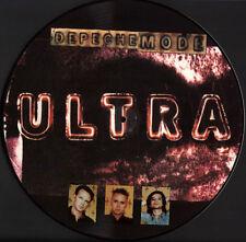 "Depeche Mode-Ultra picture disc vinyle promo album 12"" LP Argentina 1997 IMAGE"