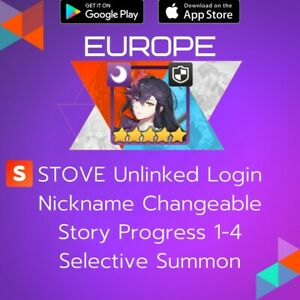 [Europe] Fallen Cecilia   Epic Seven Epic 7 Name Change ML Starter Account