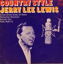 "Jerry Lee Lewis(7"" Vinyl P/S)Country Style EP-Philips-BE 12599-UK-VG/VG+"