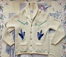 Vintage Tundra Cardigan Sweater Men's Large Duck