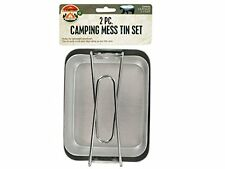 2-Piece Camping/Hiking Mess Tin Kit Set