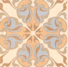 Vives Tassel Crema 20 x 20cm Dekor Musterfliesen Bodenfliese Castelo Retro