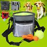 Puppy Pet Dog Cat Obedience Training Treat Bag Nylon Belt Feed Bait Food Pouch