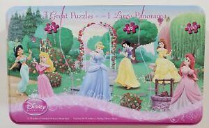 Disney Princess 3 Great Puzzles Become 1 Large Panorama 172 Piece Puzzle