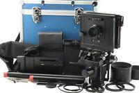 【NEAR MINT IN CASE】 Sinar F2 4x5 45 Film Camera Nikkor W 150mm F/5.6 From JAPAN