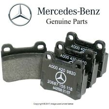 For Mercedes W201 190E W124 260E 300E W202 C220 Rear Disc Brake Pad Set Genuine