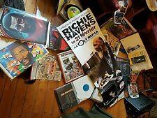 Richie Havens Guild D40 + ca:100 LPs 60 Singles 100 CD Poster Zeitung  Woodstock