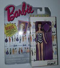 1995 Barbie Schlüsselanhänger , Keychain , Ponytail Barbie braunhaarig , NRFB