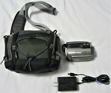 JVC Everio GZ-MG255U 30GB Hybrid HDD/SD Card Dual Storage Camcorder w/ Carry Bag