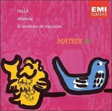 DE LOS ANGELES - Falla: Atlantida / El Sombrero Tres Picos - 2 CD - **Mint**