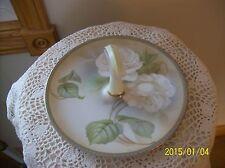 Regina Ware Germany Vintage Rose Porcelain China Center Handle Serving Plate