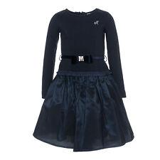 Monnalisa  ♥ 3 tlg. Kleid blau ein TRAUM ♥ Gr. 104 ♥ NEU ♥ Winter 19/20