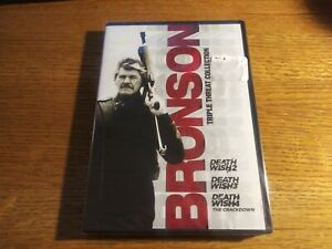 Bronson Triple Threat Collection (DVD) Death Wish 1, 2, 3! New & Sealed!