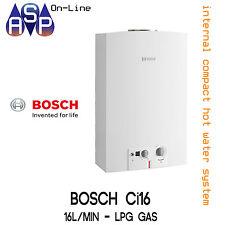 Bosch Ci16 Internal LPG 16L Continuous Compact Hot Water Unit GWH16-2GLP