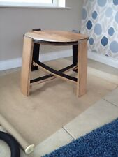 Recycled Handcrafted Solid Oak Wood Whiskey Whisky Barrel Coffee Side Table