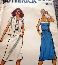 *Lovely Vtg 1970s Dress & Jacket Sewing Pattern 10/32.5