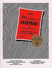 NIEHAUS BASIC JAZZ CONCEPTION 1 SAXOPHONE Bk & CD
