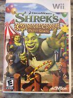 Shrek's Carnival Craze Party Games (Nintendo Wii, 2008)