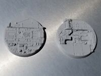 Player Created one Ice Flow 50mm 60mm Acrylic Base Toppers Insert B