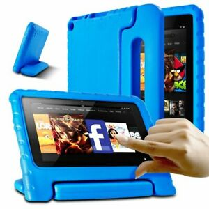 For Amazon Fire 7 Safe Kids Child Heavy Duty Foam Shockproof Case Cover Stand