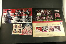 The Elvis Stamp Collection 68 Special Mystic Stamp Company 4 Sheets