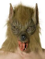 Werwolf Maske - Horror Film Gruselmaske - Fasching Halloween Kostüm Verkleidung