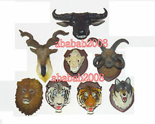Takara Tomy Hunting Trophy figure animals Head Magnet gashapon part.3 (8 Pcs)