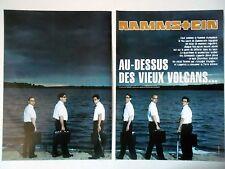 COUPURE DE PRESSE-CLIPPING :  RAMMSTEIN [8pages] 08-09/2004 Richard Kruspe,Reise