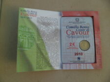 2 EURO BU ITALIE 2010 CAVOUR NEUVE SOUS BLISTER D ORIGINE