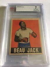 1948 Leaf Boxing Beau Jack #13 BVG 7