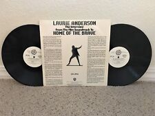 Laurie Anderson - Interview From Home Of The Brave - 1986 PROMO 2LP