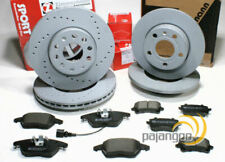 VW Golf VI 6 - zimmermann Discos de Freno Pastillas Para Delantero Trasero