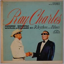 """RAY CHARLES: Country and Western Meets Rhythm and Blues JUKEBOX EP 33 7"""""""