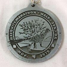 2010 Mesquite Marathon Medal Half 10K 5K Nevada Road Runner Desert Medallion