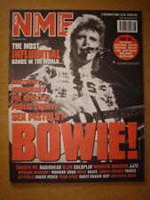 NME 2000 DEC 2 BOWIE SEX PISTOLS BLUR OASIS JJ72 MUSE