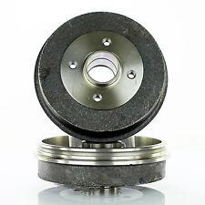 2x Bremstrommel Ø203mm 4-Loch hinten für Renault Clio II Megane 1 Dacia Logan