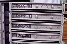 Crown Macro-tech Ma3600vz 230V ONLY Power Amplifier (3600w) 2006/07 Model *ONE*
