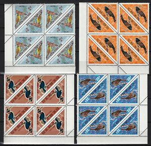 VIETNAM south 1970 birds  MNH ** LUXE  CORNER   SG CV 216£  298$