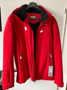 Herren Skijacke Kjus, Jacket Formula, Rot Gr.50 NEU