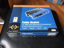 Linksys Cable Modem USB & Ethernet Wired Model BEFCMU10 Brand New Sealed