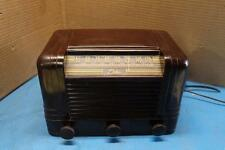 RARE S/N 0001 DELCO RADIO MODEL 1235 BAKELITE CASE TABLETOP R-1235 1ST OFF LINE