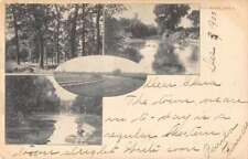 Guthrie Oklahoma Driving Park Race Track and Scenic Views Postcard J71263