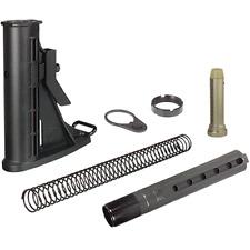 UTG PRO Made in USA 6-Pos Mil-spec Stock Assembly - Black - RBU6BM