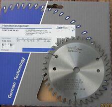 HM/Widia Handkreissägeblatt 140 x 12,75 Z 36 WZ, blueline AKE  für Black& Decker