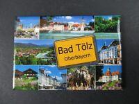 Bad Tölz,8 cm Foto Magnet Souvenir Germany,Deutschland,NEU